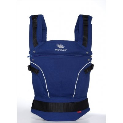 Слинг-рюкзак manduca PureCotton royal blue (синий)