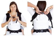 Не знаешь как надеть эрго-рюкзак или слинг? Мы подскажем!